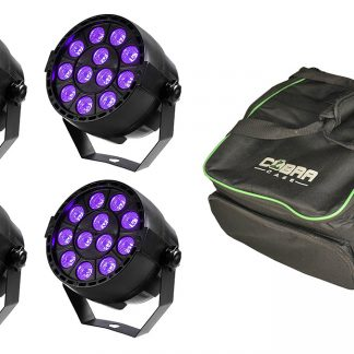 Ibiza UV LED Spot Bundle