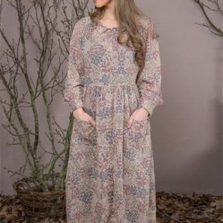 JDL Clothing - Kjole - Flowery past - Blomstret