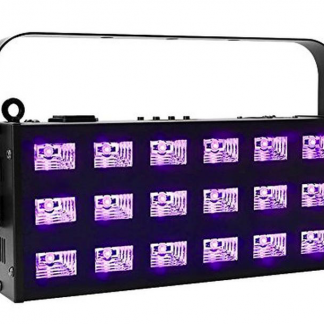 Marconi UV+hvid 18 x 3 watt LED bar