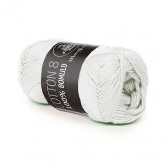 Mayflower Cotton 8/4 Garn Unicolor 1495 Lys Mint