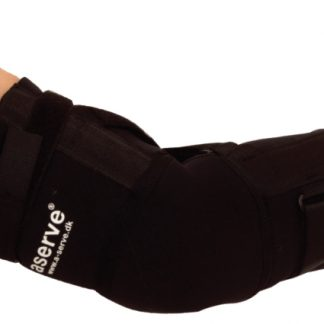 Aserve Albue Support (Inkl. Skinne) - X-Large