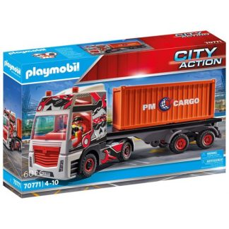 Lastbil med container - PL70771 - PLAYMOBIL City Action