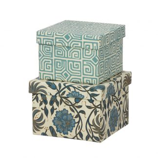 Cubic Duo box - 2 stk - Thilla Ocean Blue - Small fra Bungalow