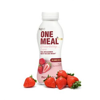 Nupo One Meal +Prime Shake - Strawberry Love 330ml